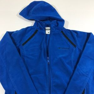 Women's Columbia jacket blue and black G4